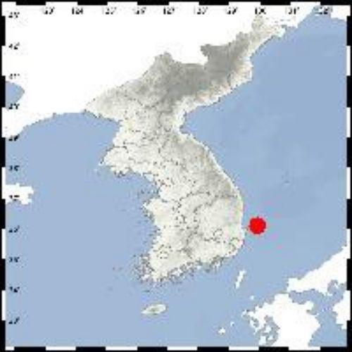 지진 발생 위치 [사진=기상청 제공]