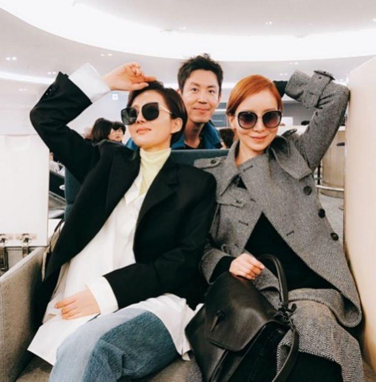 배우 윤세아·최원영·염정아 / 사진=윤세아 인스타그램 캡처