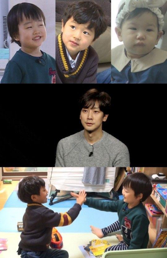 '슈퍼맨이 돌아왔다'는 10일 고지용·고승재 부자와 심지호 가족의 만남을 그렸다. / 사진=KBS 2TV 방송 캡처