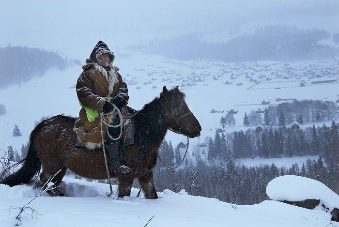 13세기 몽골족들이 우량카이라 낮춰 불렀던 투바족 유목민의 모습(사진=위키피디아)