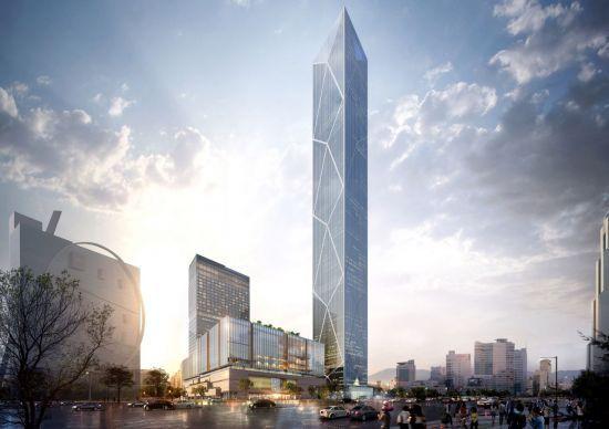 현대차그룹 글로벌비즈니스센터(GBC) 105층 신사옥 투시도