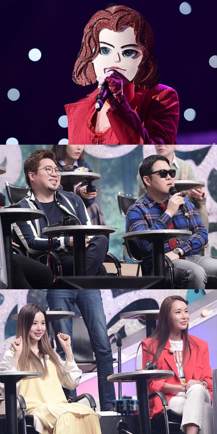 17일 MBC '복면가왕'에서는 '불난 위도우'의 첫 가왕 방어전이 공개된다. / 사진=MBC