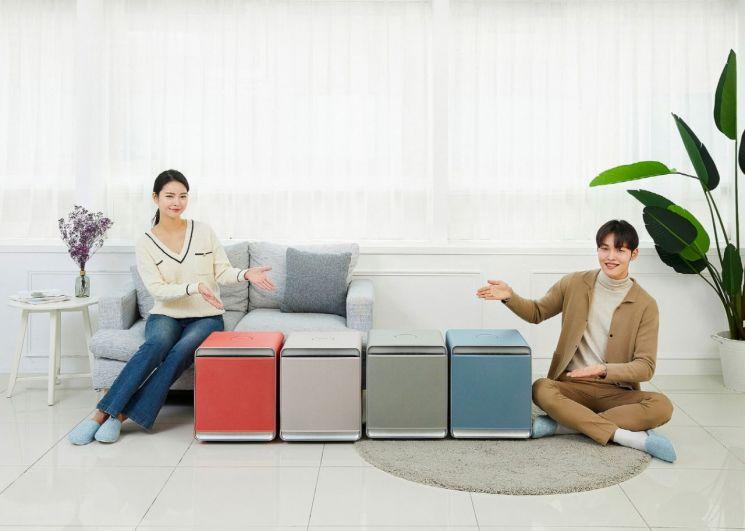 삼성전자 공기청정기 '삼성 큐브', 봄맞이 4색 신규 출시