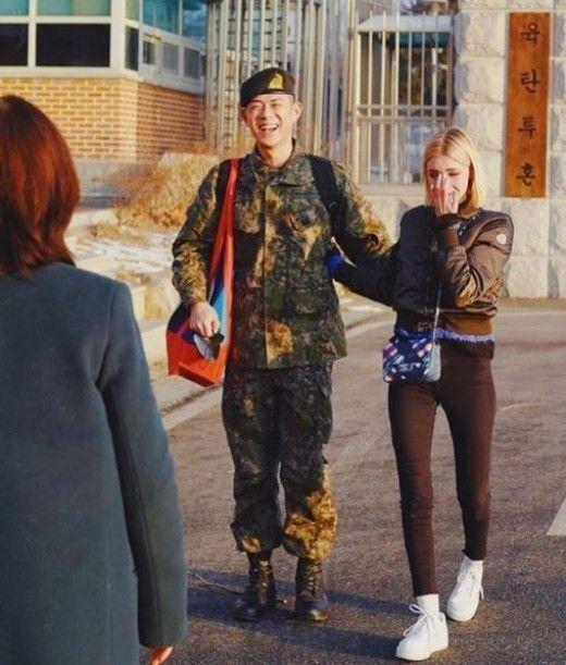 빈지노(좌), 스테파니 미초바(우) /사진=빈지노 SNS