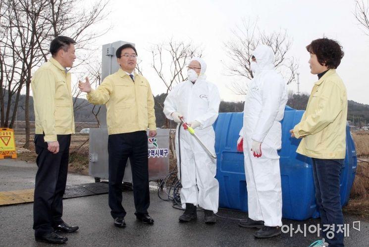 광주 북구, 구제역 종식까지 가축 방역 거점소독시설 지속 운영