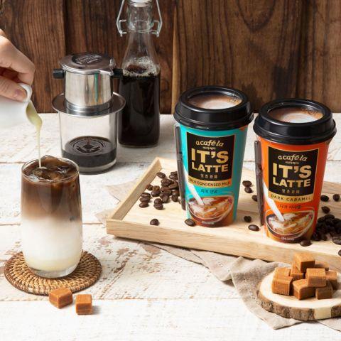 빙그레, 고소하고 진한 맛 담은 컵 커피 '아카페라 잇츠라떼' 선봬