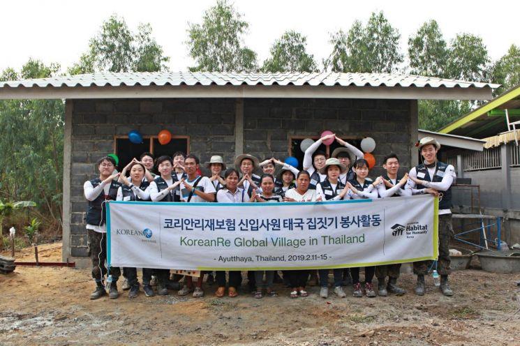 코리안리, 태국 아유타야서 재난현장 복구 지원