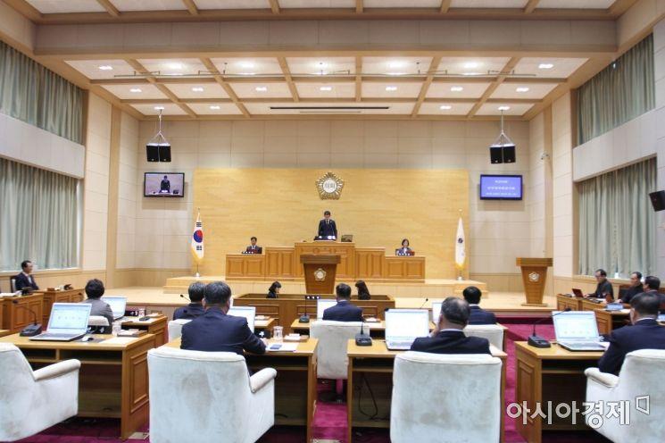신안군의회, 제275회 임시회 개회