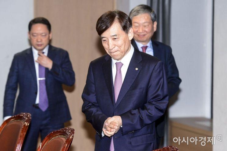 [포토] 경제동향간담회 참석한 이주열 총재