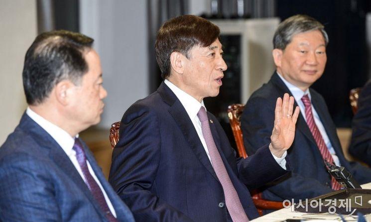 [포토] 주력산업 여건 점검 나선 이주열 총재