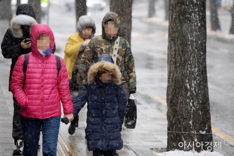 [포토]'눈이 오네'