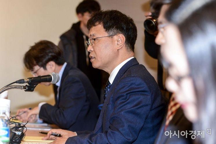 [포토]모두발언하는 김용래 산업통상자원부 통상차관보