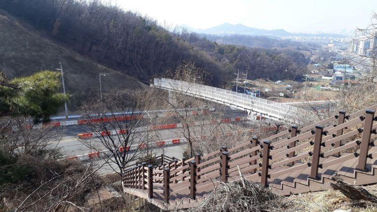 남한산성역~영장공원 잇는 '산성 등산육교' 22일 개통