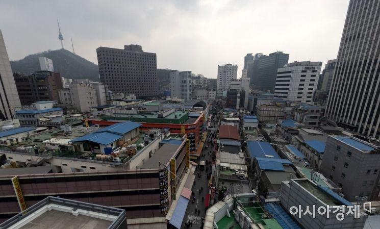 회현동 골목 일대 전경(사진=아시아경제 윤동주 기자)