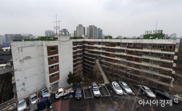 회현 제2시민아파트 일대 전경(사진=아시아경제 윤동주 기자)