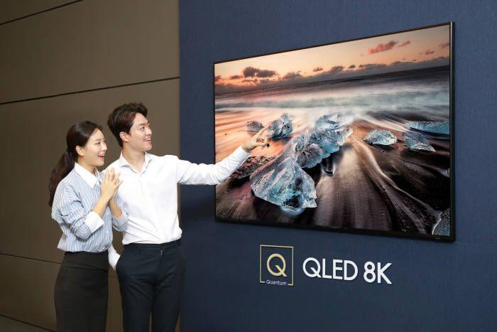 QLED TV 판매는 늘었는데, 진영은 줄었다