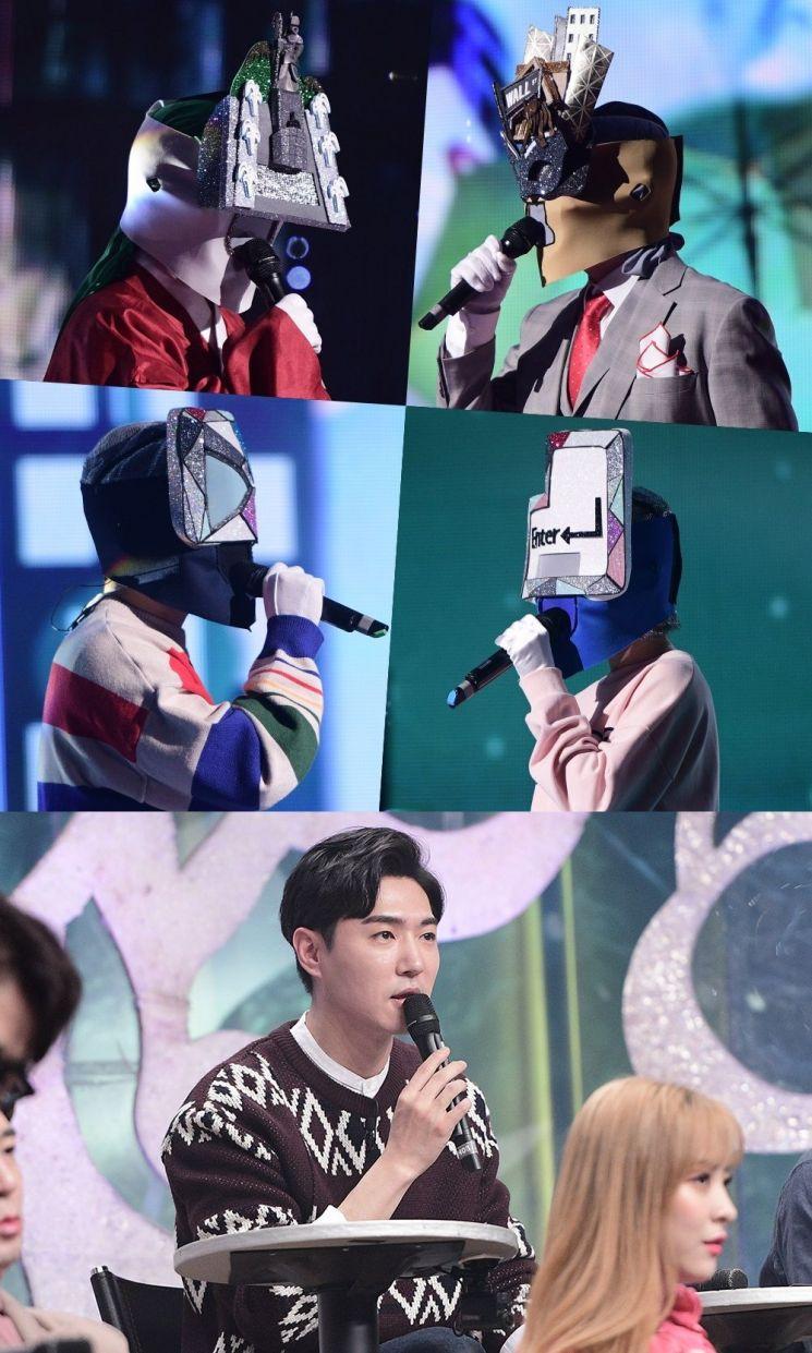24일 방송되는 MBC '복면가왕'에선 복면가수 두 팀의 대결이 펼쳐진다. / 사진=MBC
