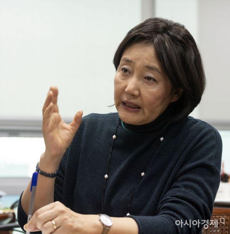 박영선 더불어민주당 의원./윤동주 기자 doso7@