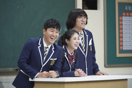 '아는형님' 출연 그룹 코요태 멤버 김종민·신지·빽가 / 사진=JTBC 방송 캡처