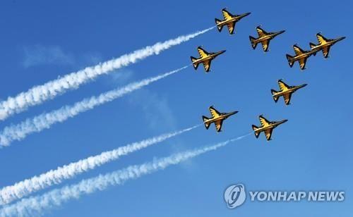 공군 특수비행팀 '블랙이글스'/사진=연합뉴스