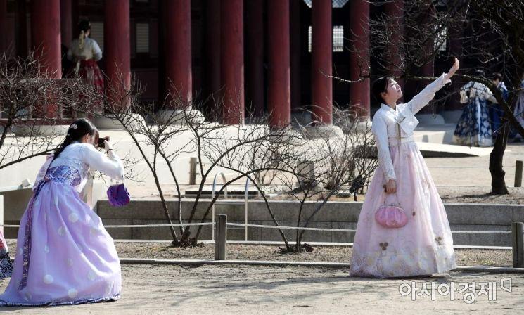 [포토] 완연한 봄을 느끼며