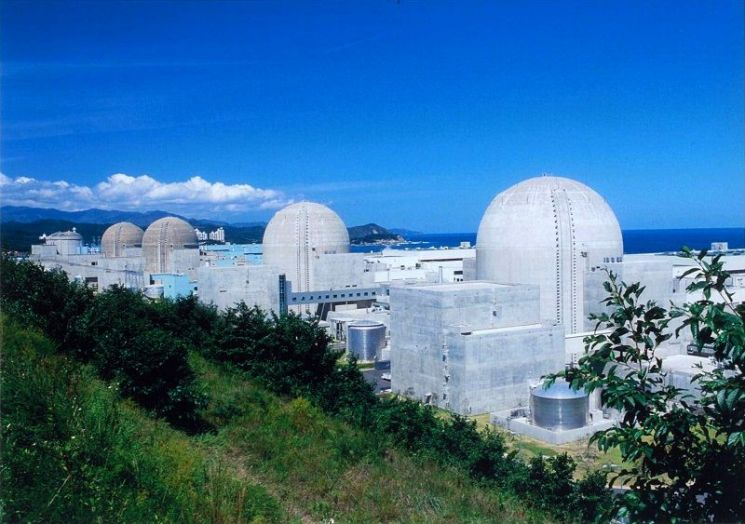한울 원자력발전소 전경(자료사진)