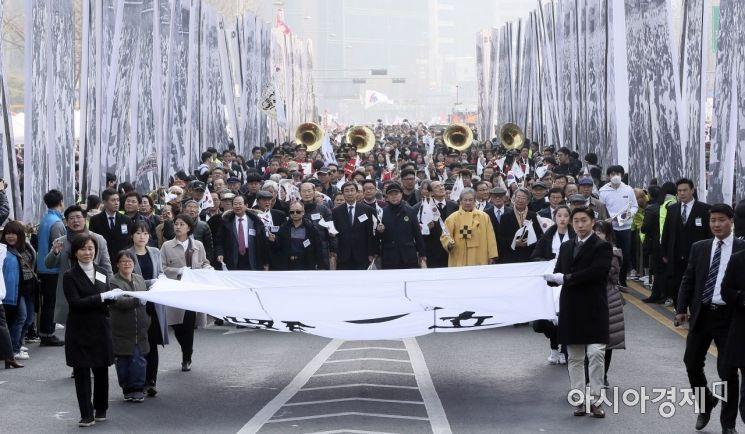 [포토] 고종 장례행렬 재현