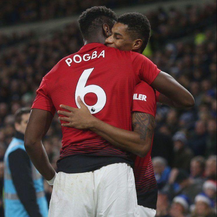 팀 승리의 키가 될 '포그바' = 사진 / 맨체스터 유나이티드 트위터