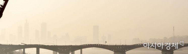 [포토] 서울, 최악 공기질