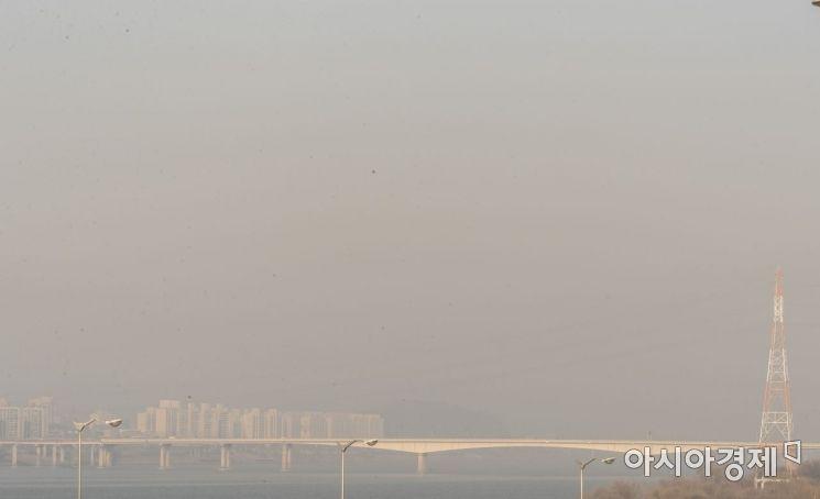 [포토] 미세먼지 가득한 김포신도시
