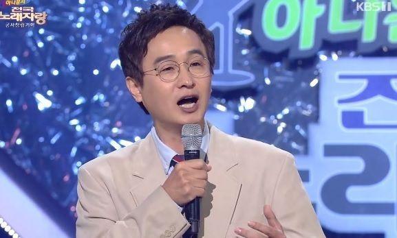 '전국노래자랑'에서 열창하는 최승돈 / 사진 = KBS 캡처