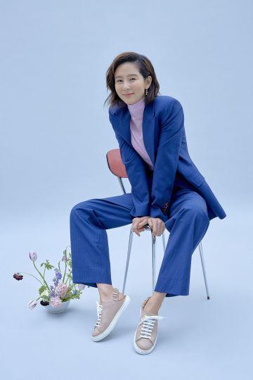 방송인 김나영, LF 바네사브루노아떼 슈즈 모델 됐다