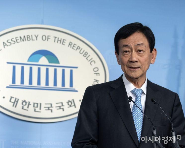 [포토] 행안부 장관으로 내정된 진영 의원