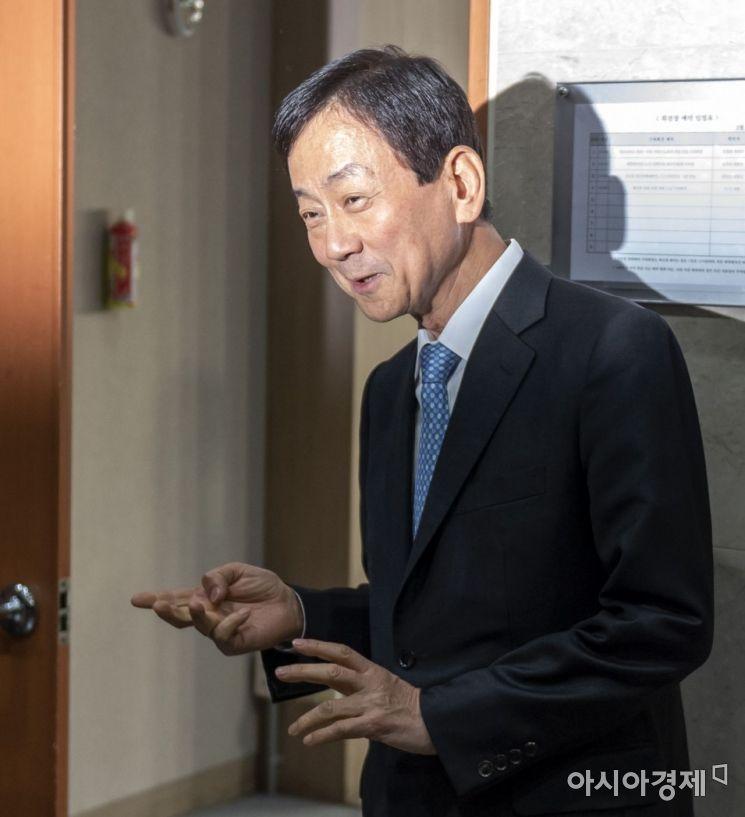 [포토] 소감 밝히는 진영 내정자