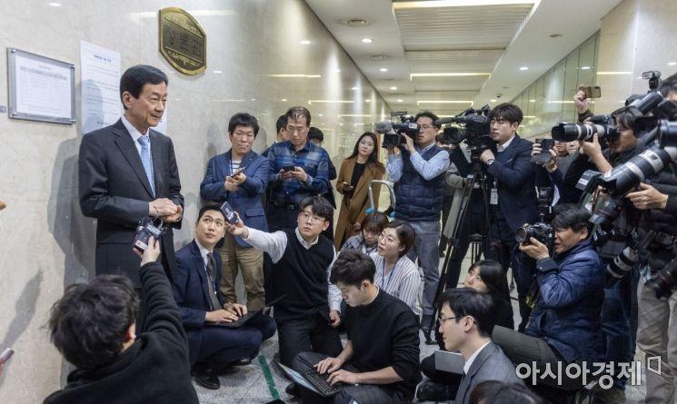 [포토] 소감 밝히는 진영 행안장관 내정자