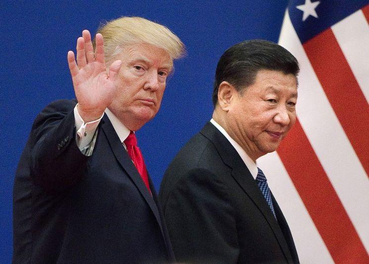 도널드 트럼프 미 대통령과 시진핑 중국 국가주석. 출처=연합뉴스