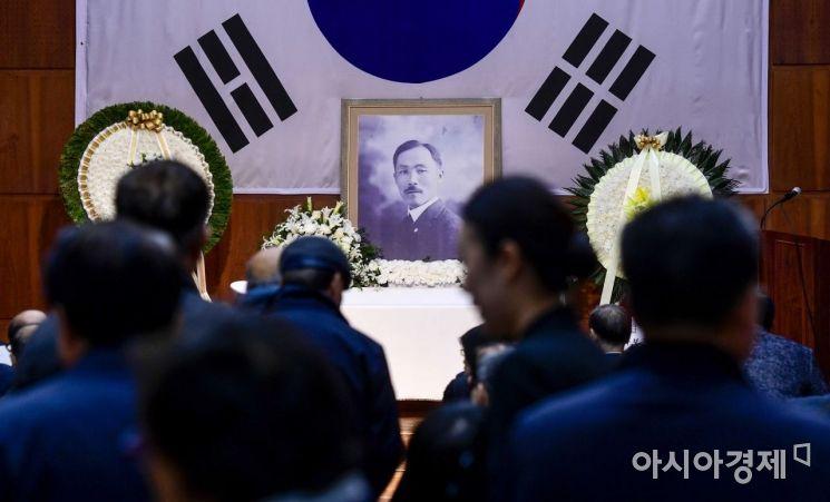 [포토]'도산 안창호 선생 서거 81주기'