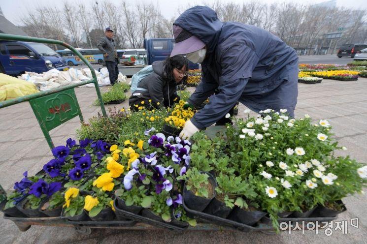 [포토]'그래도 봄은 온다'