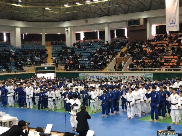 '제4회 전국 유도 국가대표 2차 선발전' 뜨거운 열기