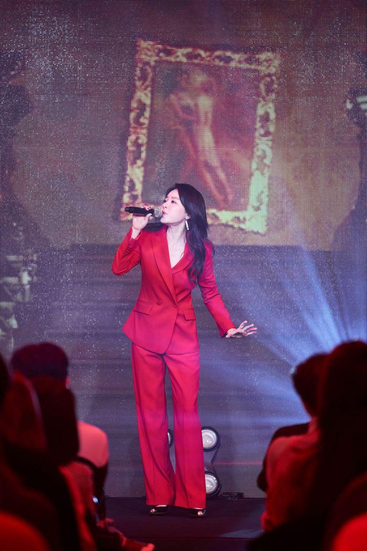 16일 열린 패션코드 갈라콘서트에 참가한 뮤지컬배우 리사