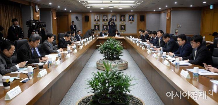 [포토] 기재부, 2019년 1차 재정정책자문회의 개죄