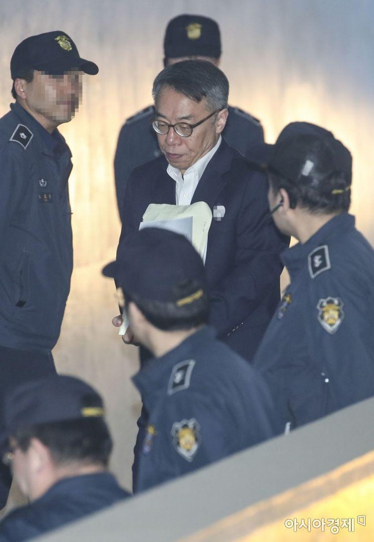 [포토]호송차에 내린 임종헌