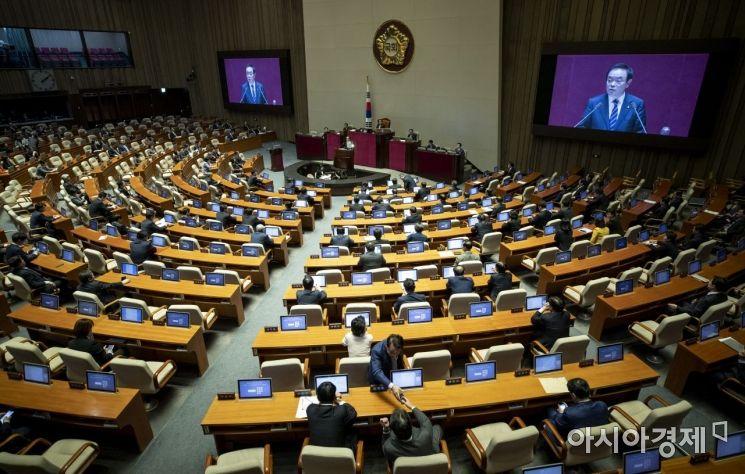 [포토] 민주평화당, 비교섭단체대표연설