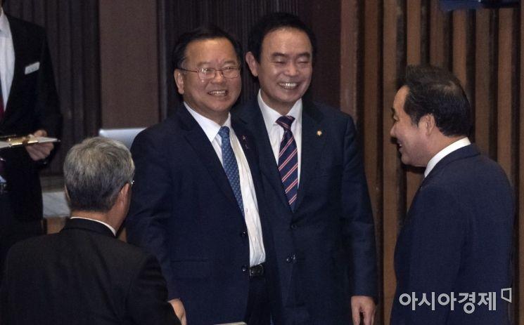 [포토] 활짝 웃는 김부겸 장관