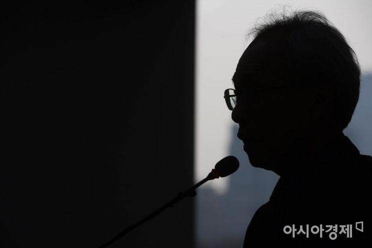 [포토]문성현 경사노위 위원장 기자간담회