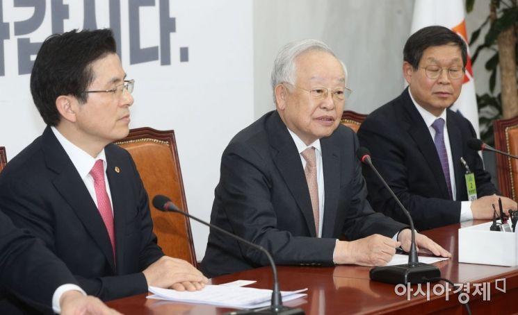 [포토] 황교안 대표 찾아간 손경식 회장