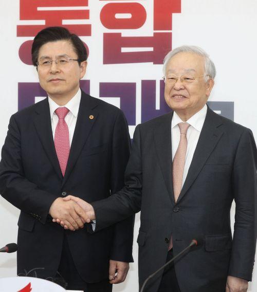 [포토] 자유한국당 찾은 손경식 경총 회장