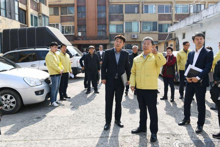 [포토] 광주 서구, 국가안전대진단 현장 영상 보고회