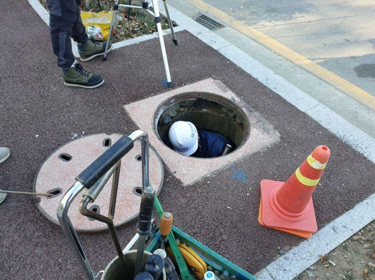 성남시 '지하 49㎞구간' 공간정보 갱신한다