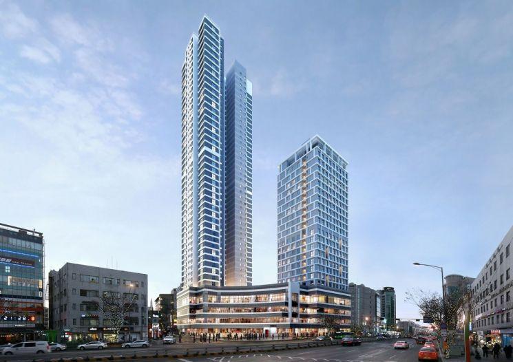 강동구 성내동 48-6 일대 45층 주상복합건물 건축